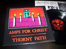 "Amps For Christ ‎""Thorny Path"" LP VERMIFORM USA 1977 - INNER"