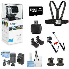 GoPro Hero3 White Edition With 32GB with Everything you Need Bundle! Brand New!!