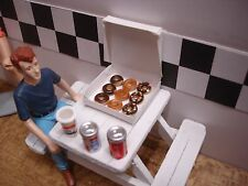 1/18 scale - Box of Donuts - for your shop/garage/diorama