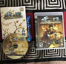 Genji: Days of the Blade (Sony PlayStation 3, 2006) COMPLETE