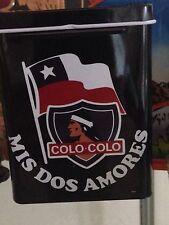 Chile Colo Colo Tin Box metal.Collectables,classic,vintage.cigar, money..