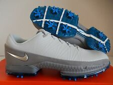 """NIKE AIR ZOOM ATTACK """"GOLF CLEATS"""" PLATINUM-SILVER-GREY SZ 8.5 [853739-001]"""