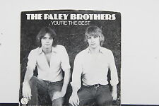 """PALEY BROTHERS """"You're The Best"""" 45rpm PROMO 7"""" NM w/ picture sleeve"""