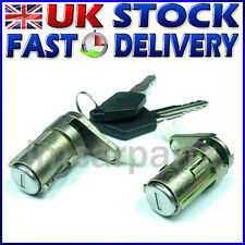 Lock Set Door Barrel & Keys compatible with PEUGEOT 307