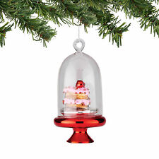 4053729  Mrs Claus Sweet Shop Cake Dome Christmas Dept 56 Holiday Ornament