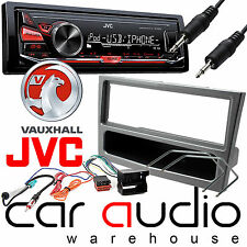 Vauxhall Corsa D 2006 On JVC Car Stereo Radio Mechless MP3 AUX Player Kit Silver