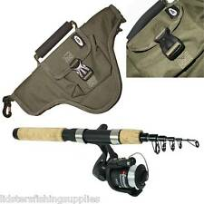Mini Travel Telescopic Carbon Rod and Reel Combo Onamazu + Travel Fishing Bag