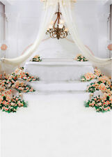Photo Prop Background Flower Studio 5x7FT Photography Backdrops Romantic Wedding