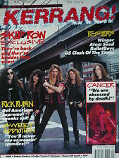 KERRANG 341 - SKID ROW/TATTOO RODEO/CANCER/UDO/MINDFUNK/NELSON