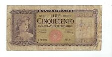 Italy - 1947,  500 Lire   !!Replacement!!