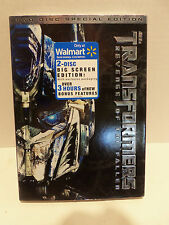 Transformers Revenge of the Fallen 2 Disc BS Edition WalMart Exclusive DVD - NEW