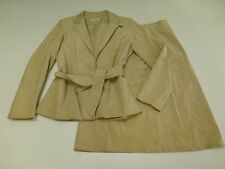 Vintage Frederick & Nelson Womens Size 14 Faux Suede Blazer & Skirt Outfit