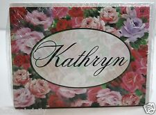 KATHRYN NAMED NOTE CARDS 8 PACK WITH ENVELOPES NAME GREETING INVITATION BLANK