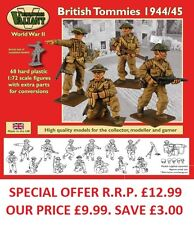 Valiant miniatures-wwii británico tommies 1943/45 cifras kit/war Juegos.