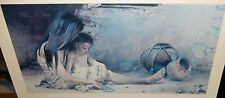 "GUY MANNING ""MORNING PLAY"" LIMITED EDITION HAND SIGNED LITHOGRAPH LISTED ARTIST"