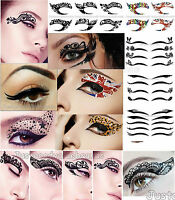 Lace Eye Sticker Eye Liner Eye Shadow Sticker Transfer Quality Temporary Tattoo
