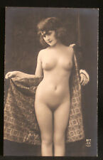 ancienne photo érotique de maison close 217 AN Paris femme nue fin XIX ème