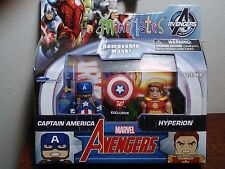 MARVEL MINIMATES CAPTAIN AMERICA & HYPERION WALGREENS EXCLUSIVE WAVE 3 AVENGERS
