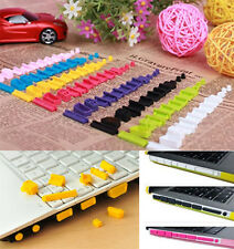 Fashion Anti-Dust Silicone Plug Cover for Laptop Notebook Universal 13pcs/set av