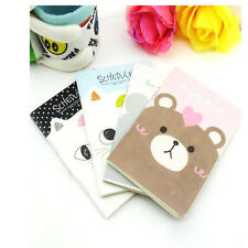 Cute Cat Diary School Notebook Scheduler Korea Stationary Soft Cover NG