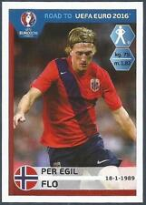 PANINI ROAD TO UEFA EURO 2016- #180-NORWAY-PER EGIL FLO