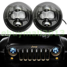 "Pair 7"" Round 40W LED Off-Road 4X4 H/L Work Light For JEEP Cherokee KJ 2002-2007"