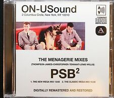 Pet Shop Boys-ON-USound Megamixes- Audio CD