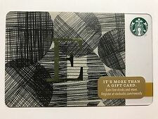 STARBUCKS Card Christmas 2014 Monogram Alphabet Series Letter E - Free Shipping