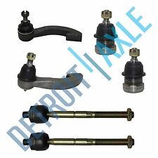 Brand New 6pc Kit Lower Ball Joint + Both Inner & Outer Tie Rod for Civic/EL
