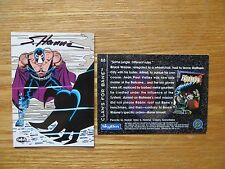 1994 BATMAN SAGA OF THE DARK KNIGHT BANE KNIGHTALL CARD SIGNED SCOTT HANNA,POA