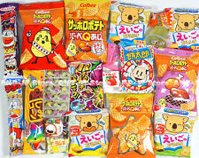 Japanese Candy Snacks Food Assorted 20pcs set Dagashi Chocolate Potato QB20