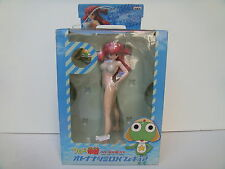 NATSUMI OTONA VERSION KERORO GUNSO G66 BANPRESTO COSTUME BIANCO NUOVO ORIGINALE