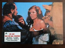 THE LIGHT AT THE EDGE OF THE WORLD Orig Lobby Card SAMANTHA EGGAR JULES VERNE