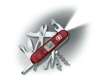 NEW VICTORINOX SWISS ARMY TRAVELLER LITE RUBY BOXED 53878