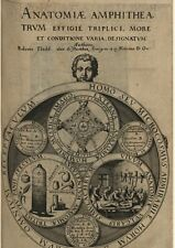 Robert Fludd- 12 rare antiques books of occult, physica,metaphysica ON DVD