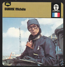 MICHELE DUBOSC France Car Racing Timekeeper PHOTO CARD