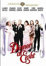 Dinner at Eight DVD 1989 Marsha Mason, Charles Durning John Mahoney Ellen Greene