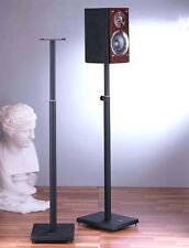 VTI Pair Surround Speaker Adjustable Stands, BLE101, Black, New, Free Shipping