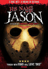 His Name Was Jason 30 Years Of Friday The 13th DVD Region 0 New Sealed 2 disc