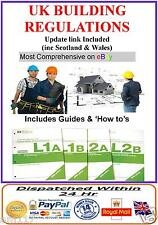 UK Building Regulations Comprehensive Regs DIY Help Guides CD plus bonus Items
