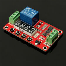 12V DC Multifunction Self-lock Relay PLC Cycle Timer Module Delay Time Switch tw