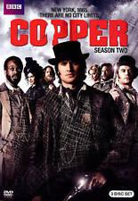 Copper: Season Two (NEW DVD, 2014, 3-Disc Set)