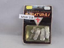 Renegade Legion Miniatures 3 Romulus TOG Medium APC metal New (MSW 158)
