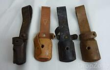 Post WWII Yugoslavian Military Army Leather Mauser Rifle Bayonet Frog