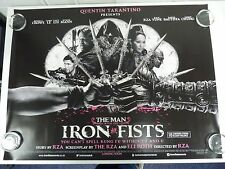 The Man with the Iron Fists Crowe Liu Original Film / Movie Poster Quad 76x102cm