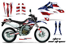 KAWASAKI KLX 250 Graphic Kit AMR Racing Decal Sticker Part 04-07 SAS