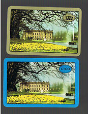 "Playing Swap Cards 2  VINT  ""CHATSWORTH  HOUSE  ""  U.K.  ER106 DAFFODILS  GALORE"