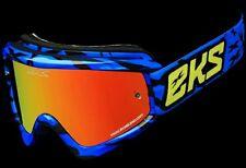 New EKS X Brand Scatter Googles Blue 067-10610 ATV MX Motorcycle Quad SXS UTV