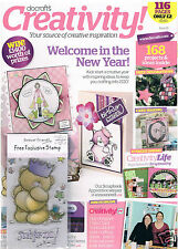 Docrafts creativity magazine November 2009 no. 18 +5 free Forever Friends stamps