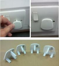 4 Safety Electric Socket Cover Plug Protect Child Children Safe Proof